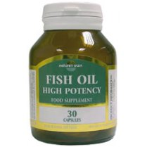 Fish Oil High Potency Capsules EPA/DHA 30's