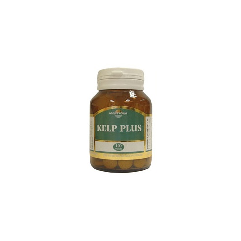 Nature's Own Kelp Plus: 150mg 100's