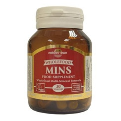 Mins: Wholefood MultiMineral 30's