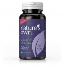 Vitamin B Complex Plus Vitamin C & Mag 50's