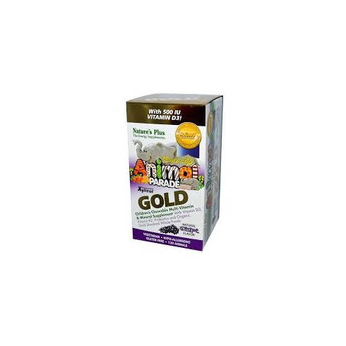 Nature's Plus Animal Parade GOLD Multi 120's - Grape Flavour