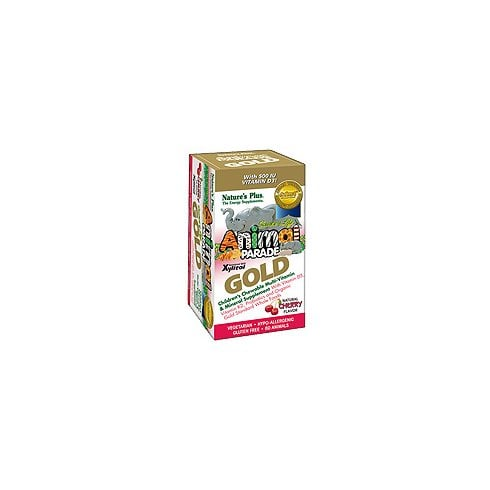 Nature's Plus Animal Parade GOLD Multi 60's - Cherry Flavour