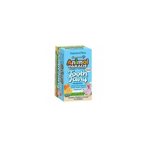 Nature's Plus Animal Parade Tooth Fairy Children's Chewable 90's - Vanilla Flavour