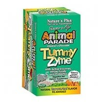 Animal Parade Tummy Zyme Chewable 90's - Tropical Fruit Flavour