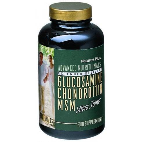 Nature's Plus Glucosamine Chondroitin MSM 180's