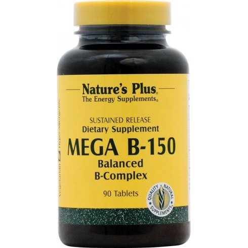 Nature's Plus Mega B-150 Sustained Release 90's
