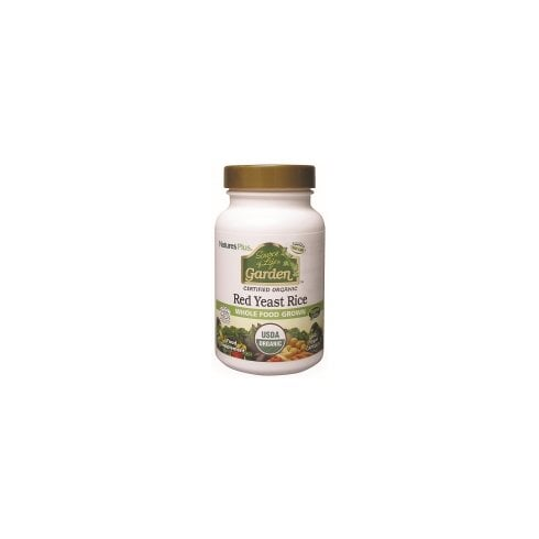 Nature's Plus Sol Garden Red Yeast Rice 600mg 60's
