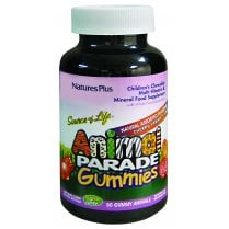 Nature's Plus Source of Life Animal Parade Gummies Natural Assorted Flavours 50's