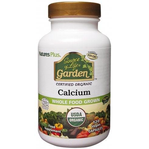 Nature's Plus Source of Life Garden Certified Organic Calcium 120's