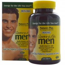 Source of Life Men - Iron Free 120's