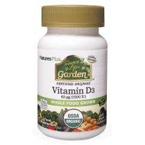 Nature's Plus Source of Life Vitamin D3 2500iu 60's