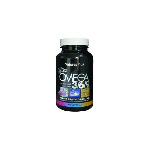 Nature's Plus Ultra Omega 3/6/9 Softgels 60's