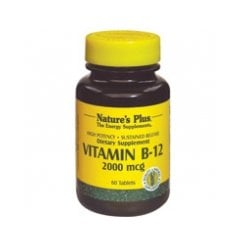 Vitamin B-12 2000mcg Sustained Release 60's