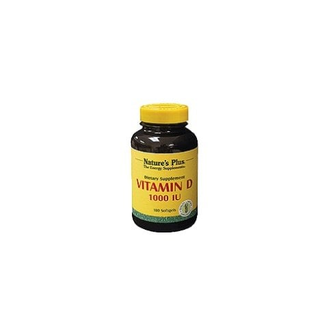 Nature's Plus Vitamin D3 1000iu Softgels (D3 Cholecalciferol) 180's