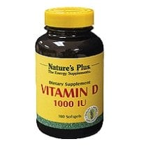 Vitamin D3 1000iu Softgels (D3 Cholecalciferol) 180's