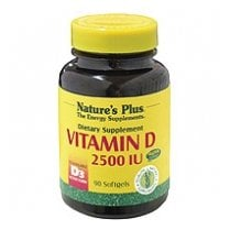 Vitamin D3 2500iu Softgels (Cholecalciferol) 90's