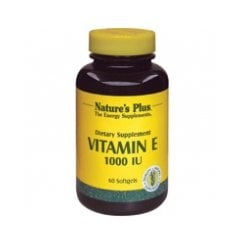Vitamin E 1000iu Softgels 60's