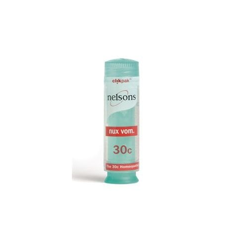 Nelsons Nux Vom 30c ClikPak 84's