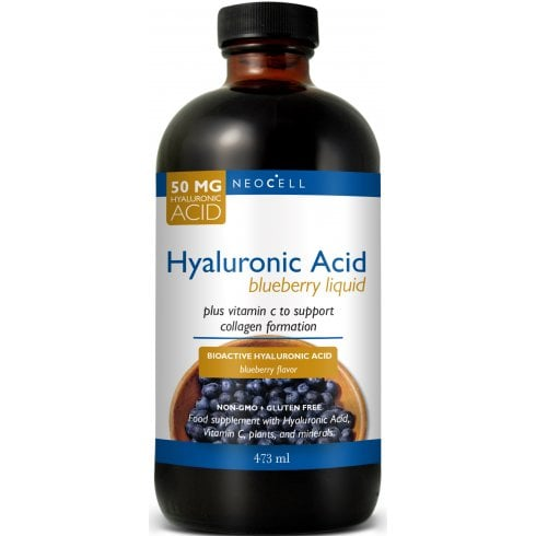 NeoCell Hyaluronic Acid Blueberry 50mg 473ml