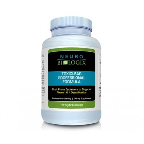 NeuroBiologix Toxiclear Professional Formula - 120 vCapsules