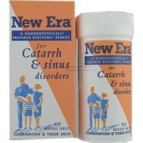 New Era Combination Q - For Catarrh & Sinus Disorders 240 tablets