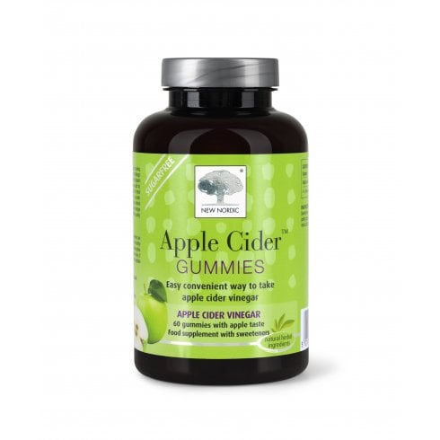 New Nordic Apple Cider Gummies 210g 60's