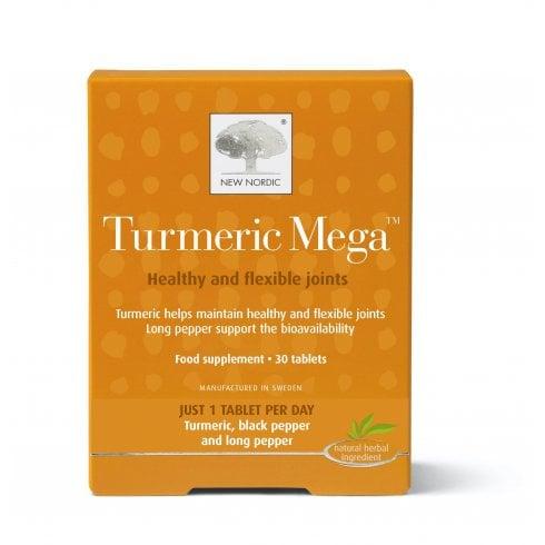 New Nordic Turmeric Mega 30's
