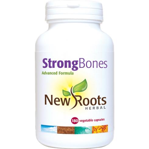 New Roots Herbal StrongBones - 180 Capsules
