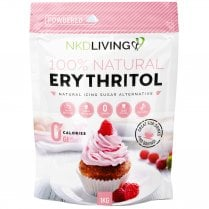 Erythritol Natural Sugar Alternative Powdered 1000g (PINK)