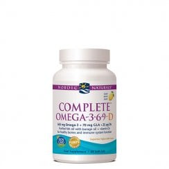 Complete Omega-3.6.9-D Lemon 60's (Currently Unavailable)