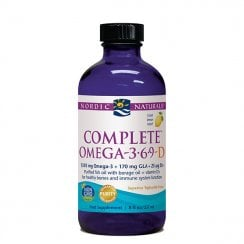 Complete Omega-3.6.9-D Liquid Lemon 237ml