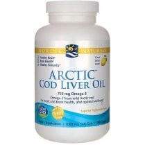 Arctic Cod Liver Oil - Lemon 90's (CURRENTLY UNAVAILABLE)