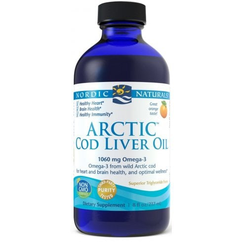 Nordicnaturals Arctic Cod Liver Oil - Peach 237ml (CURRENTLY UNAVAILABLE)