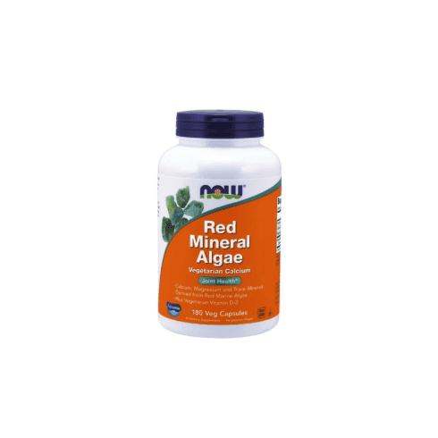 Now Foods Red Mineral Algae - 180 Capsules