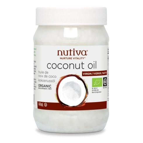 Nutiva Organic Coconut Oil Virgin 444ml