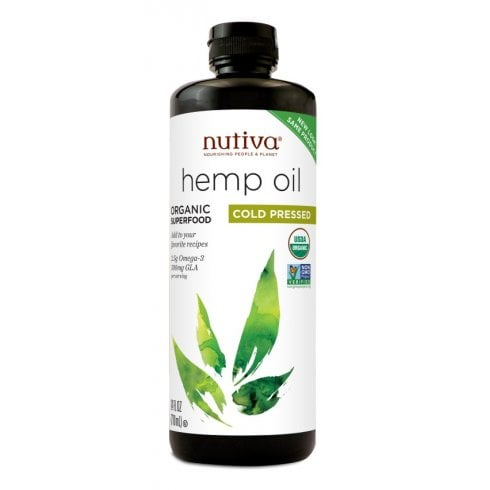 Nutiva Organic Hemp Oil Cold Pressed 710ml (Currently Unavailable)