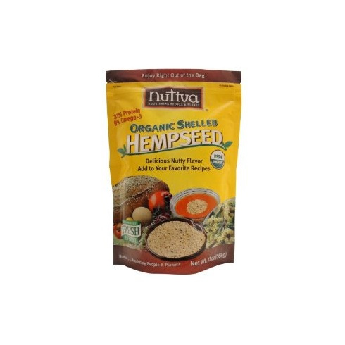Nutiva Organic Shelled Hemp Seeds 227g