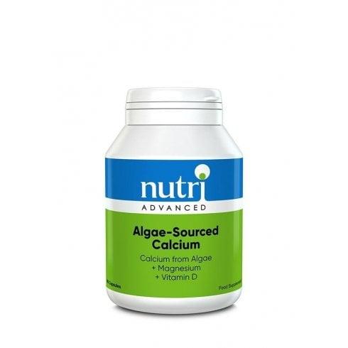 Nutri Advanced Algae-Sourced Calcium - 90 Capsules