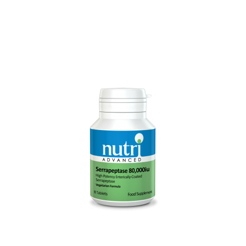 Nutri Advanced Serrapeptase 80,000iu 90's