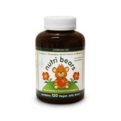 Nutri Bears Chewable Multivitamin & Mineral 30's