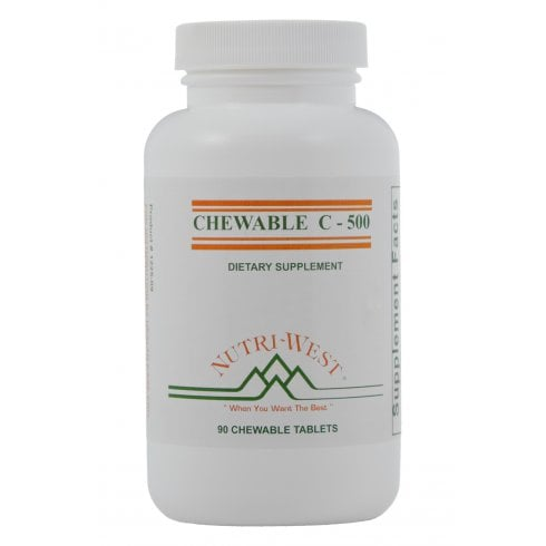Nutri-West Chewable C-500 90's