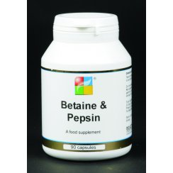 Betaine 600mg & Pepsin 20mg 90's