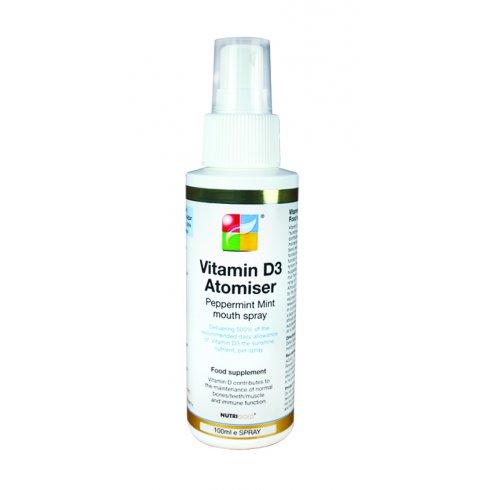 Nutrigold Vitamin D3 1000iu Atomiser Spray 100ml