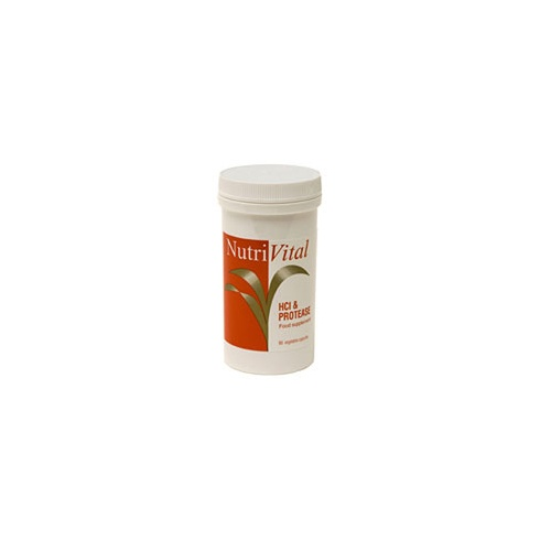 Nutrivital HCL and Protease 90s