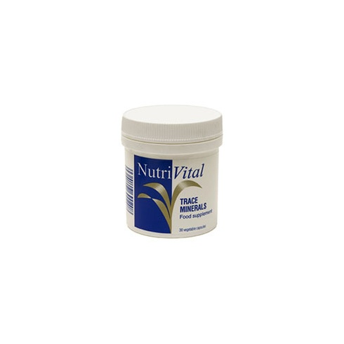 Nutrivital Trace Minerals 30s