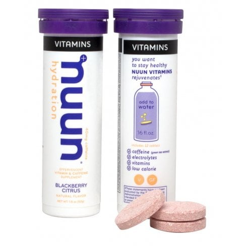 Nuun Hydration Vitamins Blackberry Citrus 12's