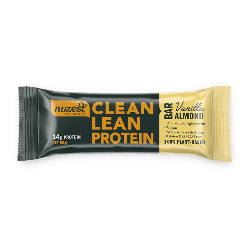 Nuzest Clean Lean Protein Bar Vanilla Almond 55g 12s (CASE)