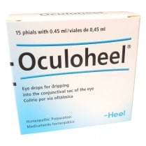 Oculoheel Eye Drops 15 Vials