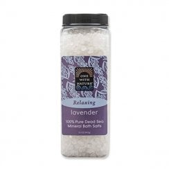 One with Nature Relaxing Lavender Dead Sea Salts 907g