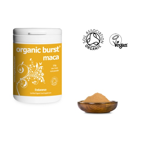 Organic Burst Superfoods Organic Maca Powder 100g